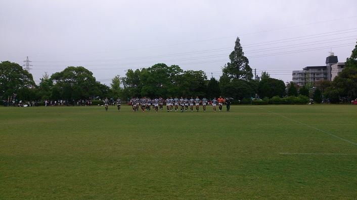 九州総体試合後