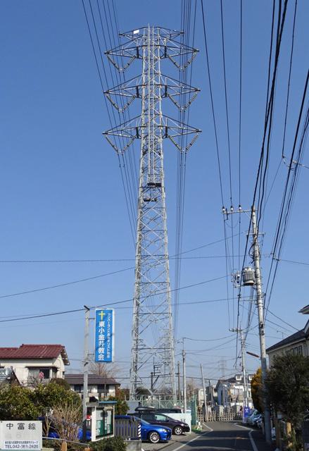 中富線66号鉄塔