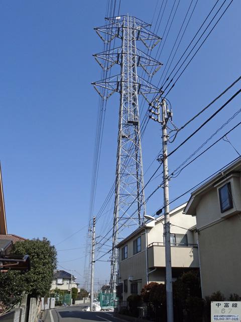 中富線67号鉄塔