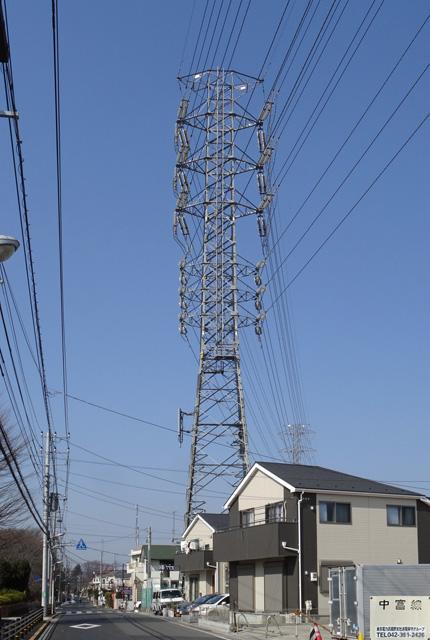 中富線73号鉄塔
