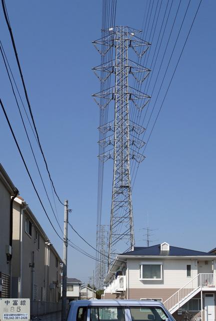 中富線85号鉄塔