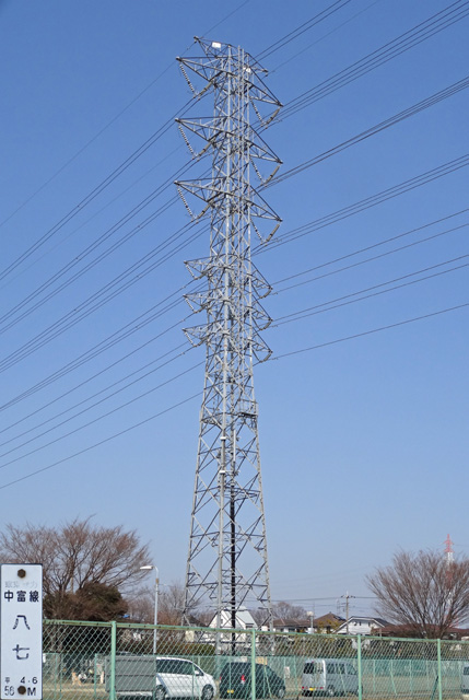中富線87号鉄塔