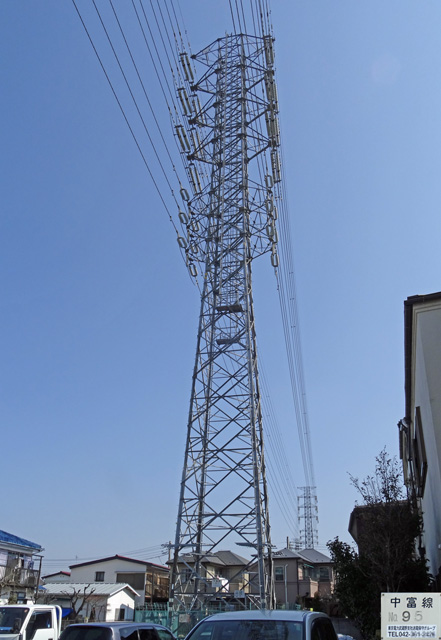 中富線95号鉄塔