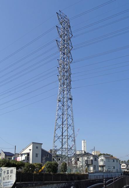 中富線101号鉄塔