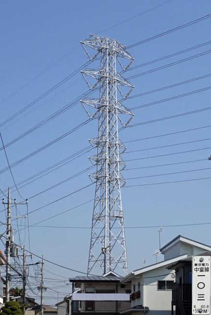 中富線103号鉄塔
