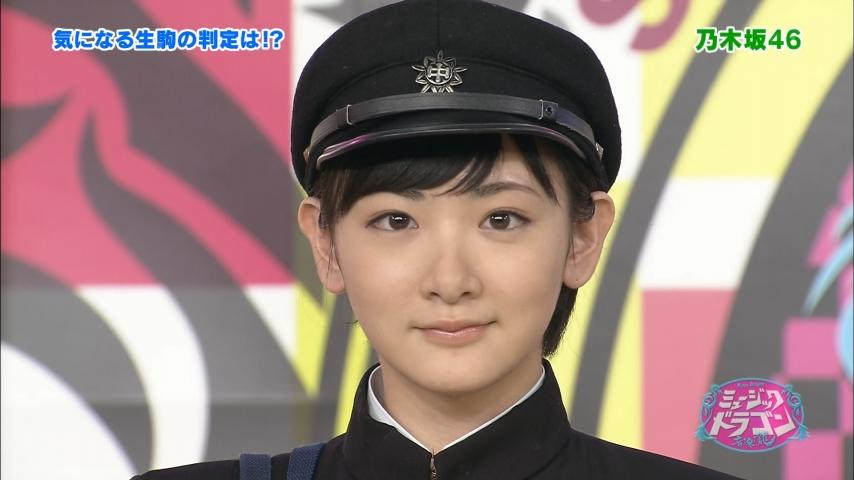 「ミュージックドラゴン」乃木坂46 生駒里奈