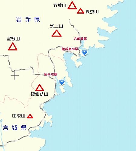 ツツジ地図