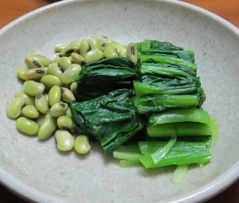 寒味と青豆