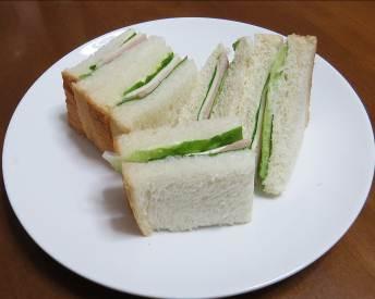 サラダナ入りサンド