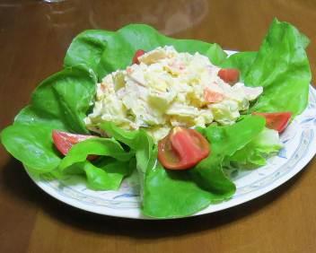 サラダナとポテトサラダ