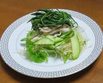 オカヒジキ入り野菜ミックスサラダ