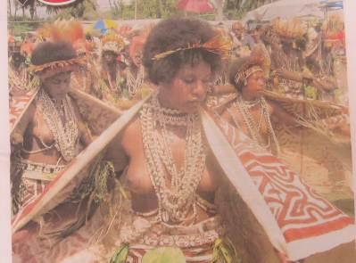 PNG独立記念日パレード