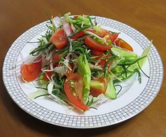 トマトサラダ3