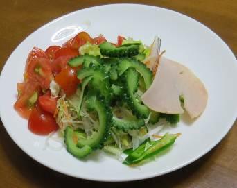 ゴーヤ野菜サラダ