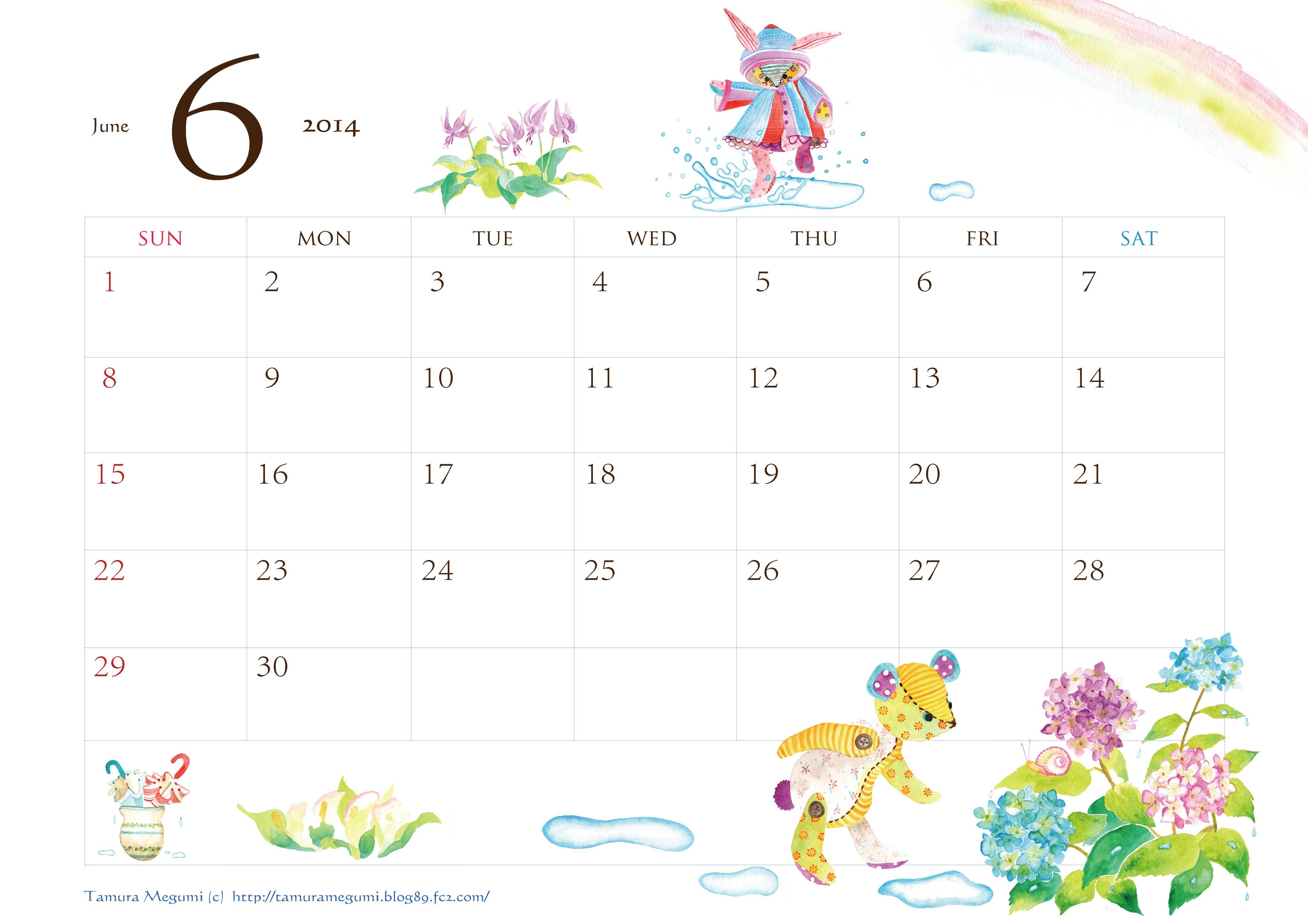 ... カレンダー【A4&ハガキサイズ