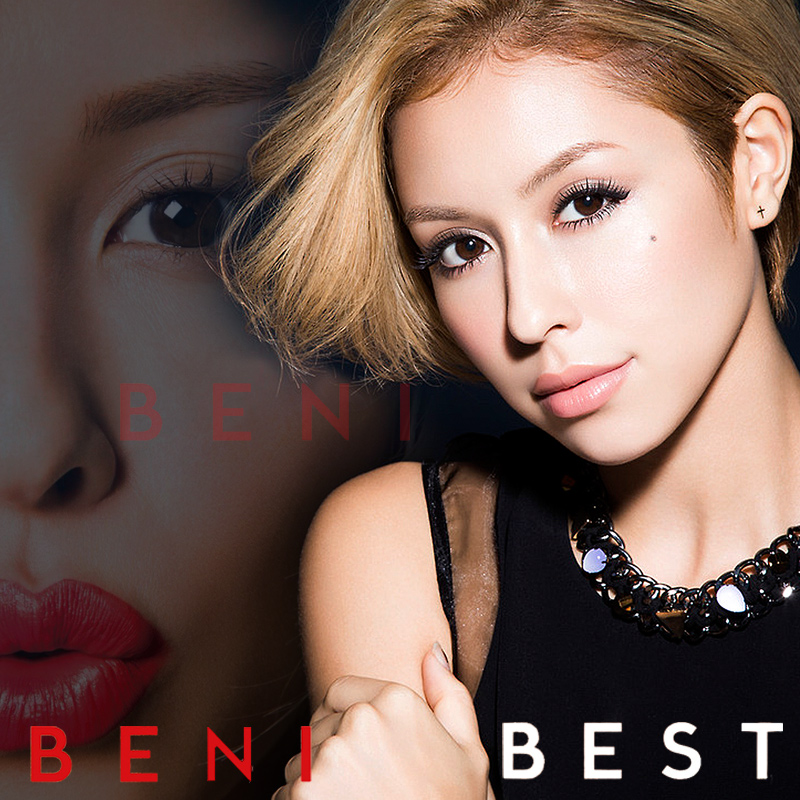 tanapapa 自作ラベル保管庫 BENI ~ BEST All Singles & Covers Hits