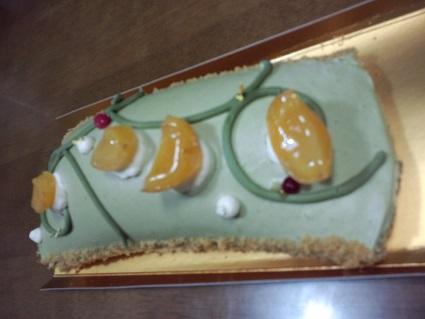 アンリシャルパンティエの季節限定ケーキ20145