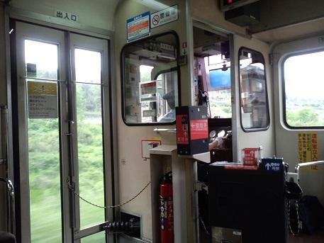 田舎のワンマン列車2014年7月
