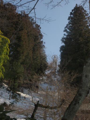 20140222・雪秩父空08・札所27番・護国観音