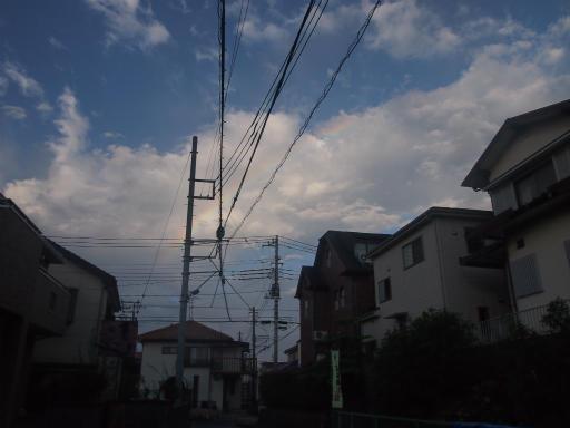 20140816・お盆の虹と花火02