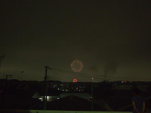 20140816・お盆の虹と花火11
