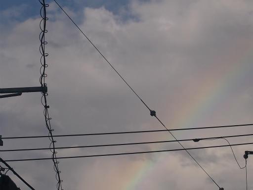 20140816・お盆の虹と花火07