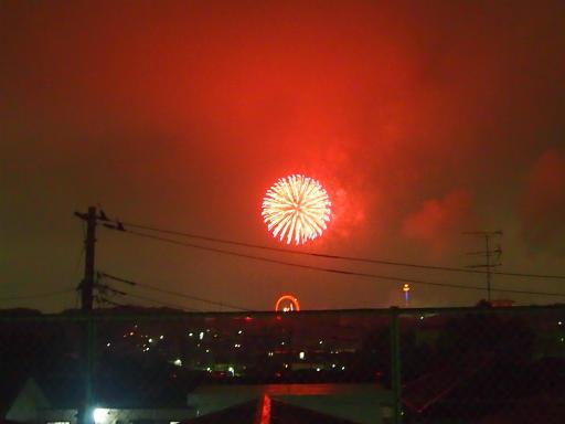 20140816・お盆の虹と花火14