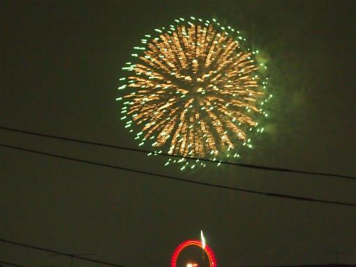 20140816・お盆の虹と花火13
