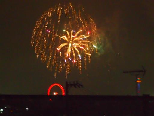 20140816・お盆の虹と花火21