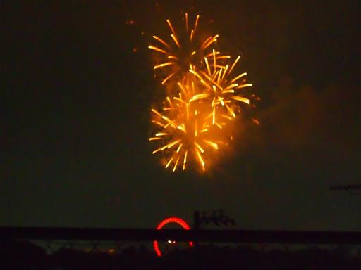 20140816・お盆の虹と花火19
