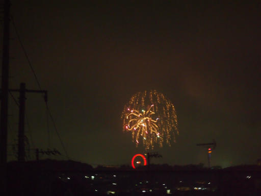 20140816・お盆の虹と花火20