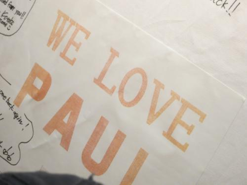 WE LOVE PAUL