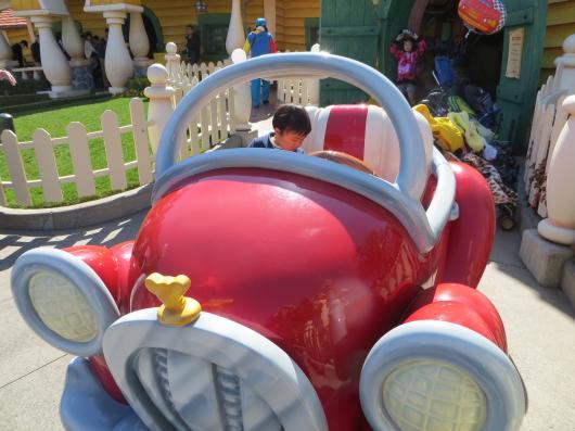 王子と自動車