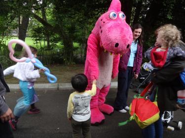 Botanic Pink Dinosaur