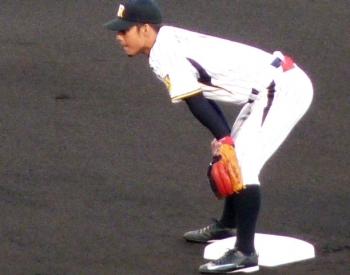 絵日記4・15横浜鳥谷1