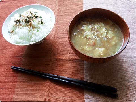 大豆スープ