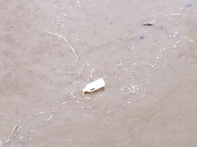 1ゴミが流れる川