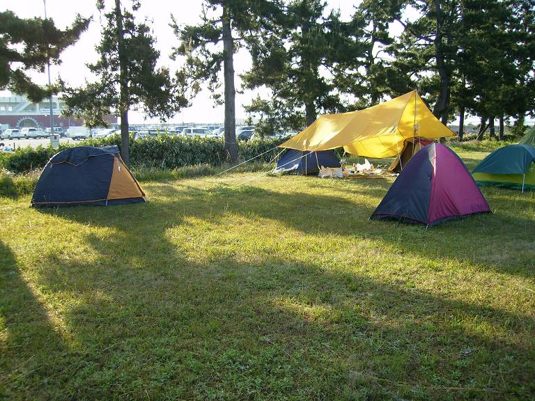 境港キャンプ