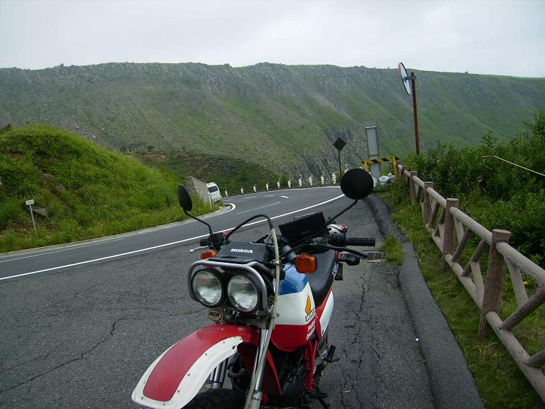 20140814草津志賀高原道路 登り始め