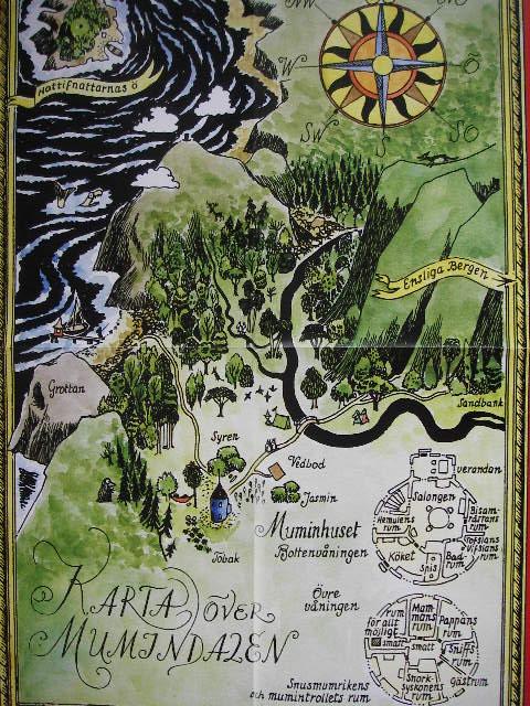 ムーミン谷地図