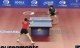 松平賢二VS馬龍(1回戦)カタールオープン2014