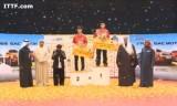ちょっと豪華な表彰式・クウェートオープン2014
