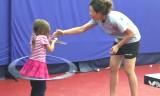 フラループと卓球・4歳少女の可愛い挑戦