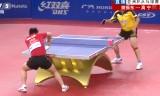 樊振東VSガオニン(長時間)アジアカップ2014