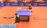 塩野真人VS王皓(2回戦)ドイツオープン2014