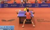 水谷隼VS周啓豪(3回戦)ドイツオープン2014