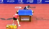 徐孝元VS単暁娜(決勝戦)ドイツオープン2014