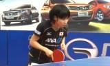 平野美宇VS李芬(女子決勝)スペインオープン2014