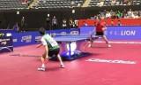 許昕の凄技バックハンド!世界卓球2014