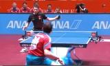中国VSロシア 世界卓球2014